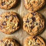 NYT Chocolate Chip Cookies Close